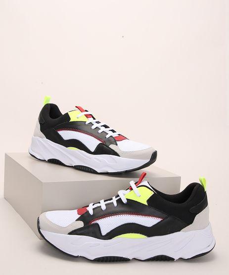 Tenis-Masculino-Oneself-Chunky-com-Recortes-Multicor-9976183-Multicor_1