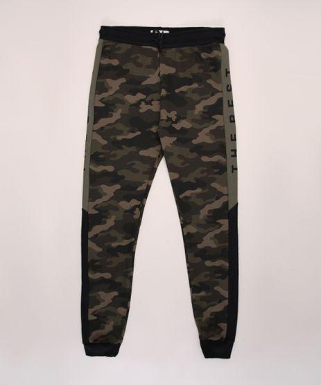 Calca-de-Moletom-Juvenil-Jogger-Estampada-Camuflada-Verde-Militar-9970298-Verde_Militar_1