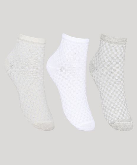 Kit-de-3-Meias-Femininas-Texturizadas-Cano-Medio-Multicor-9971338-Multicor_1