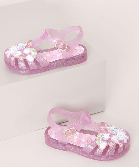 Sandalia-Infantil-LueLua-Unicornio-com-Glitter-Rosa-9974392-Rosa_1