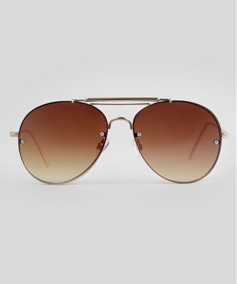 Oculos-de-Sol-Aviador-Feminino-Oneself-Dourado-9056679-Dourado_1