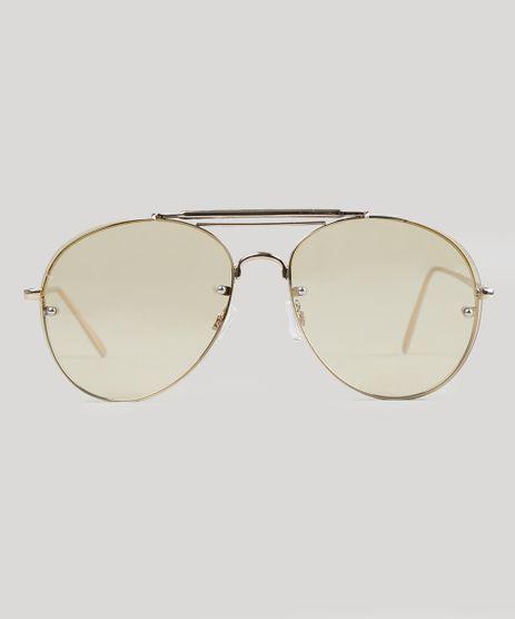 Oculos-de-Sol-Aviador-Feminino-Oneself-Dourado-9056673-Dourado_1
