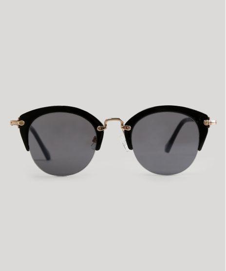 Oculos-de-Sol-Redondo-Feminino-Oneself-Preto-9056763- 9b4bc0fd82