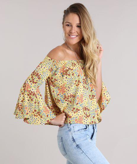 Blusa-Ombro-a-Ombro-Estampada-Floral-Amarela-8837494-Amarelo_1