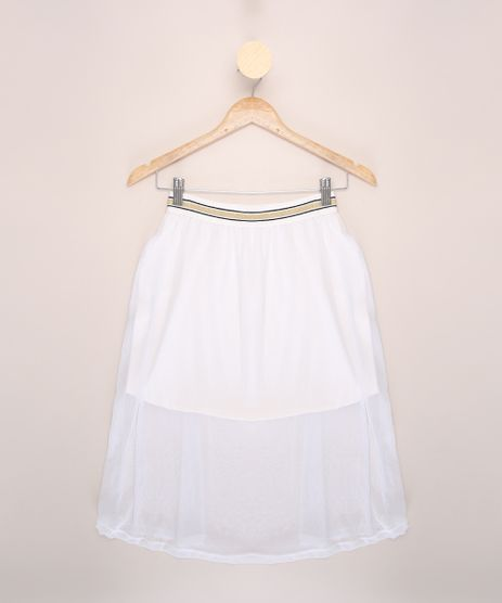 Saia-de-Tule-Juvenil-Midi-com-Glitter-Off-White-9965410-Off_White_1