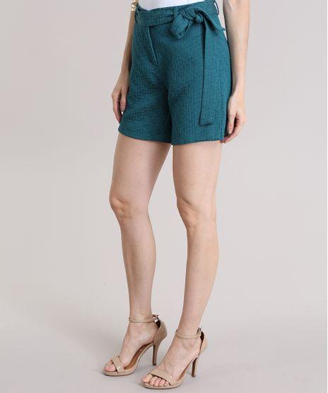 Short-em-Jacquard-com-Cinto-Verde-8359651-Verde_1