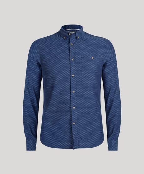 Camisa-Slim-Bordada-Azul-Marinho-8841642-Azul_Marinho_5