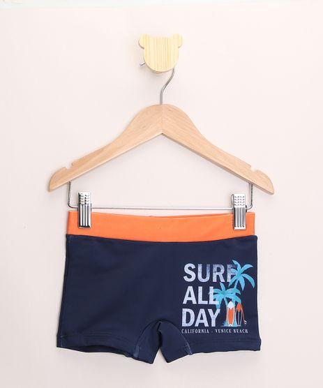 Sunga-Infantil-Boxer--Surf-All-Day--com-Protecao-UV50--Azul-Marinho-9888625-Azul_Marinho_1