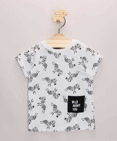 Camiseta-Infantil-Estampada-Zebras-com-Bolso-Manga-Curta-Branca-9968228-Branco_1