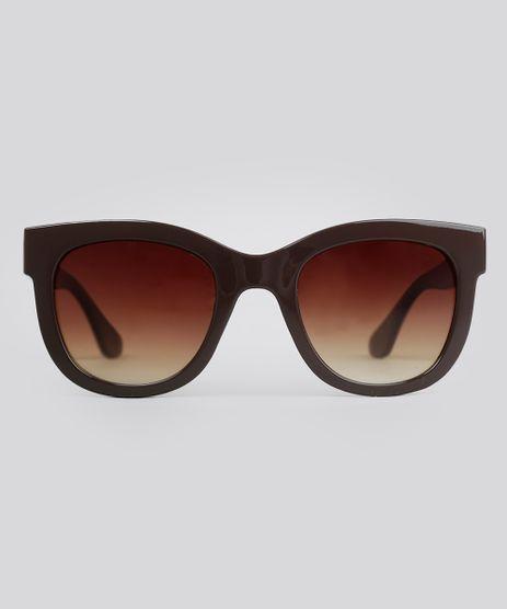 Oculos-de-Sol-Quadrado-Feminino-Oneself-Marrom-9056760-Marrom_1