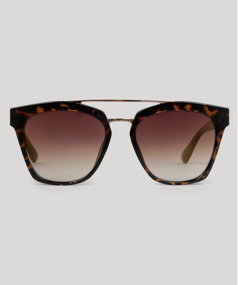 Oculos-de-Sol-Quadrado-Feminino-Oneself-Tartaruga-9056775-Tartaruga_1