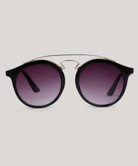 Oculos-de-Sol-Redondo-Feminino-Oneself-Preto-9056745-Preto_1