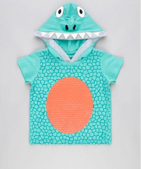 Camiseta-Estampada-Dinossauro-com-Capuz-em-Algodao--- ... a11e76b0ad1