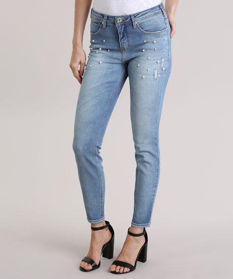 Calca-Jeans-Super-Skinny-com-Bordado-Azul-Claro-8836662-Azul_Claro_1