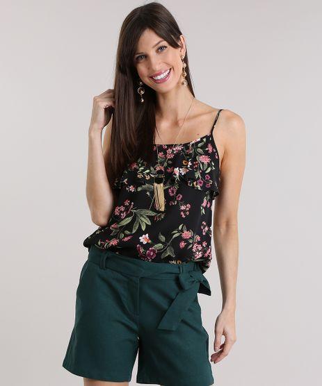Regata-Estampada-Floral-com-Babado-Preta-8843704-Preto_1