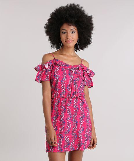 Vestido-Open-Shoulder-Estampado-Floral-com-Babados-Pink-8837503-Pink_1