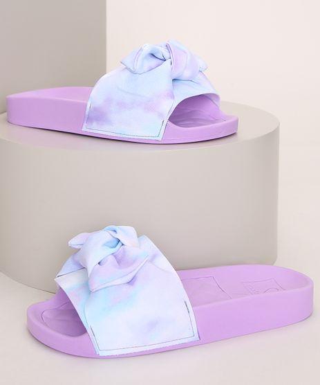 Chinelo-Slide-Infantil-Molekinha-Estampado-Tie-Dye-com-Laco-Lilas-9975228-Lilas_1