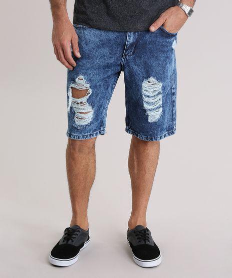 Bermuda-Jeans-Reta-Destroyed-Azul-Escuro-8954143-Azul_Escuro_1
