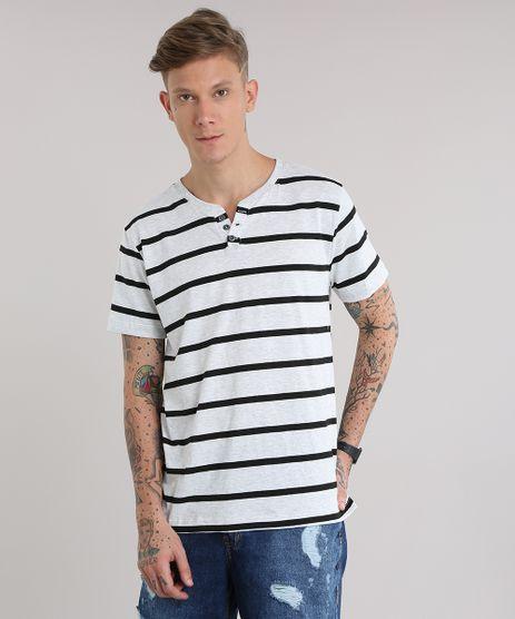 Camiseta-Basica-Listrada-Cinza-Mescla-Claro-8839752-Cinza_Mescla_Claro_1