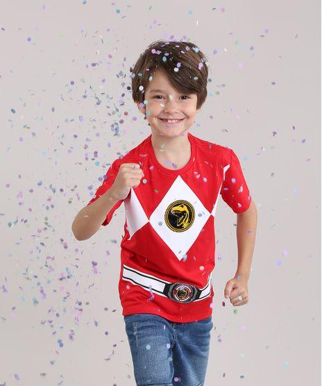 Camiseta-Power-Ranger-em-Algodao---Sustentavel-Vermelha-8568661-Vermelho_1