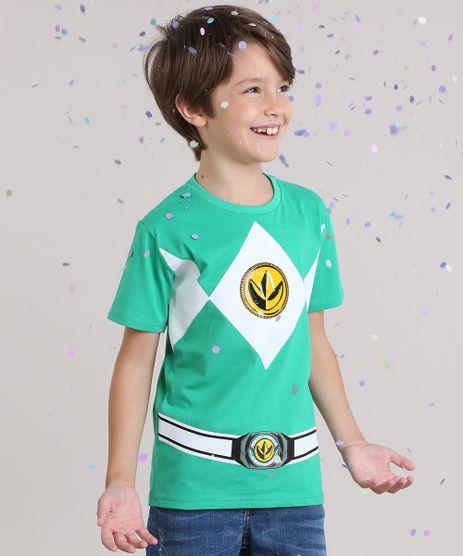 Camiseta-Power-Ranger-em-Algodao---Sustentavel-Verde-8622028-Verde_1