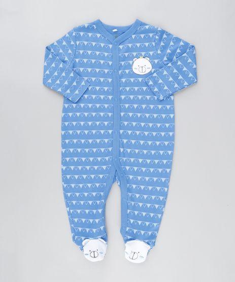 Macacao-Ursinho-Estampado-Geometrico-em-Algodao---Sustentavel-Azul-8801420-Azul_1