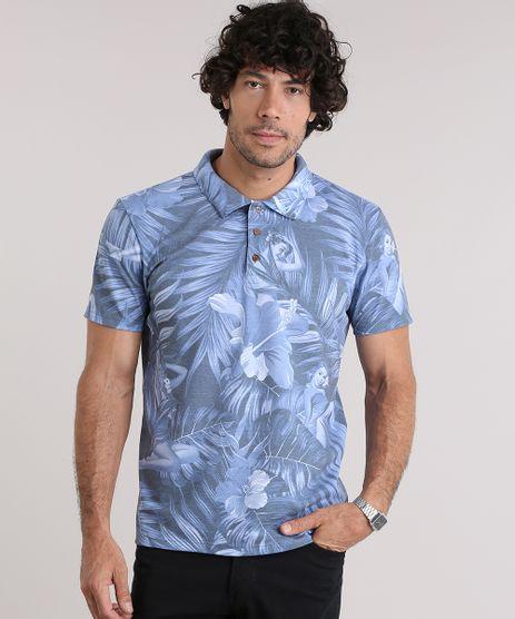 Polo-em-Piquet-Estampada-Tropical-Azul-8972052-Azul_1