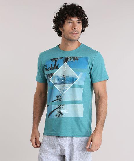 Camiseta-com-Estampa-de-Coqueiros-Verde-8959492-Verde_1