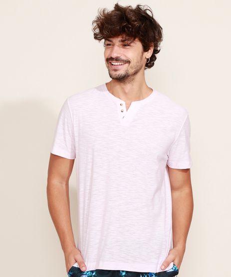 Camiseta-Masculina-Basica-Manga-Curta-Gola-Portuguesa-Rosa-Claro-9965420-Rosa_Claro_1