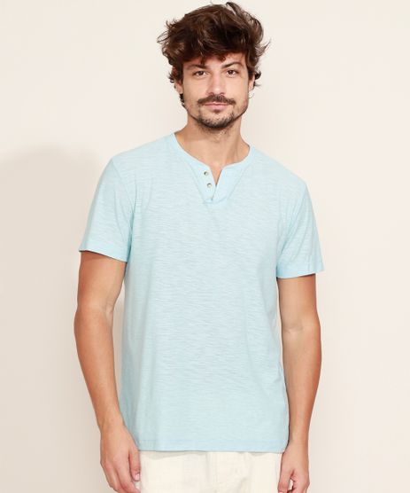 Camiseta-Masculina-Basica-Manga-Curta-Gola-Portuguesa-Azul-Claro-9965420-Azul_Claro_1