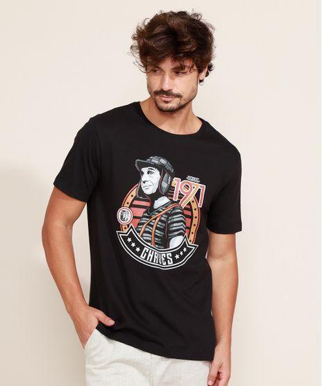 Camiseta-Masculina-Chaves-Manga-Curta-Gola-Careca-Preto-9975056-Preto_1