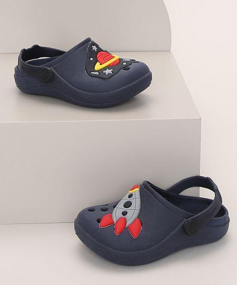 Babuche-Infantil-LueLua-Foguete-e-Planeta-Azul-Marinho-9974400-Azul_Marinho_1