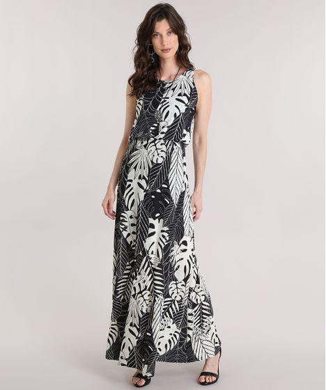 Vestido formal longo