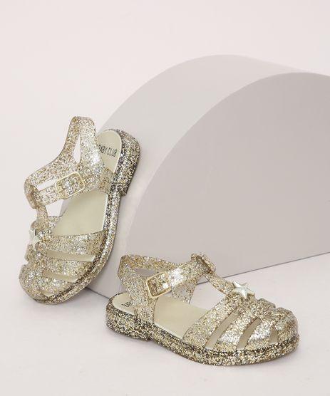 Sandalia-Infantil-de-Tiras-com-Glitter-Dourada-9973049-Dourado_1