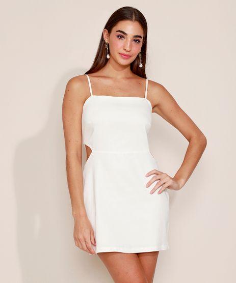 Vestido-Feminino-Curto-com-Vazado-Alca-Fina-Off-White-9965305-Off_White_1