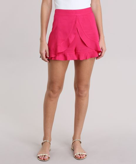 Short-com-Babados-Pink-8850430-Pink_1