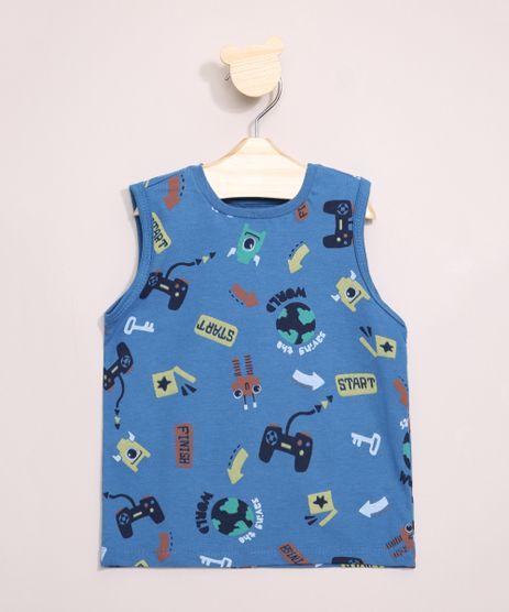 Regata-Infantil-Estampada-Monstrinhos-Azul-9967107-Azul_1