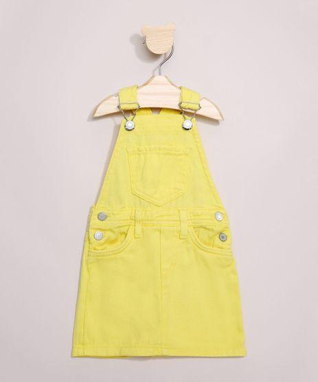 Jardineira-de-Sarja-Infantil-Short-Saia-Amarela-9967350-Amarelo_1