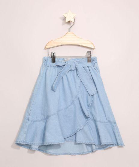 Saia-Jeans-Infantil-Midi-Transpassada-com-Babados-Azul-Claro-9965923-Azul_Claro_1