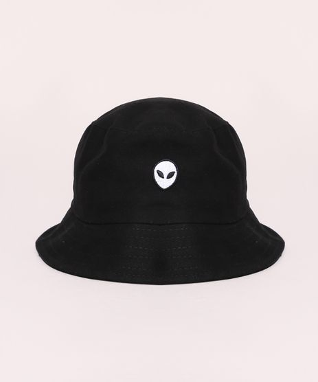 Chapeu-Masculino-Bucket-Hat--com-Bordado-ET-Preto-9973359-Preto_1