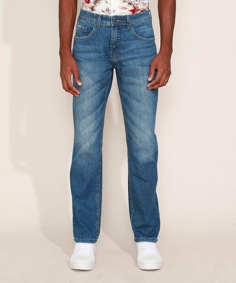 Calca-Jeans-Masculina-Reta-Azul-Medio-9966637-Azul_Medio_1