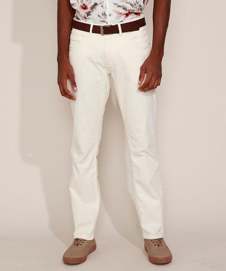 Calca-de-Sarja-Masculina-Reta-com-Cinto-Off-White-9967164-Off_White_1