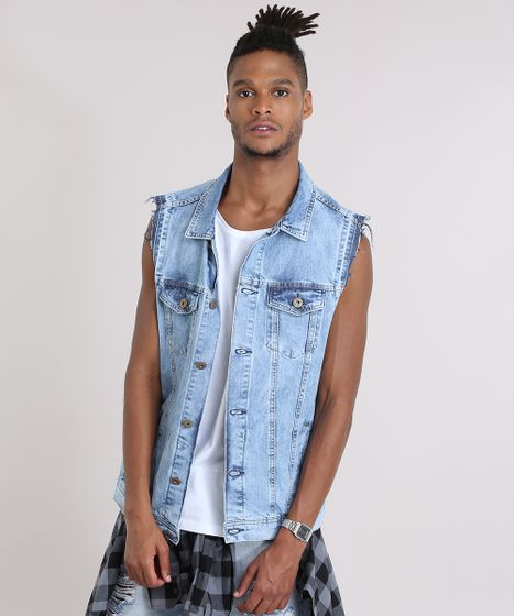 156a0ed807 Colete-Jeans-Azul-Claro-8938382-Azul Claro 1 ...