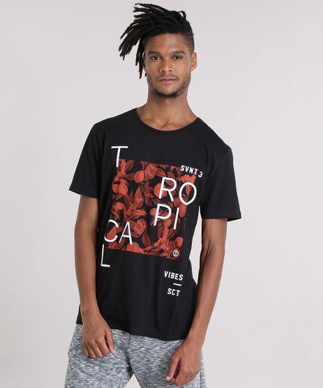 Camiseta-com-Estampa-Floral-Preta-8907536-Preto_1