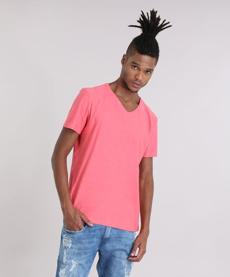 Camiseta-Flame-Basica-Coral-8715272-Coral_1