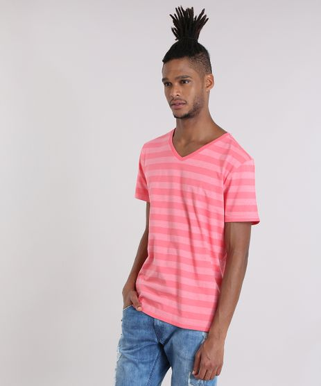 Camiseta-Basica-Listrada-Coral-8691038-Coral_1