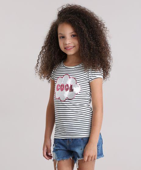 Blusa-Listrada--Cool--com-Paetes-em-Algodao---Sustentavel-Off-White-9009717-Off_White_1