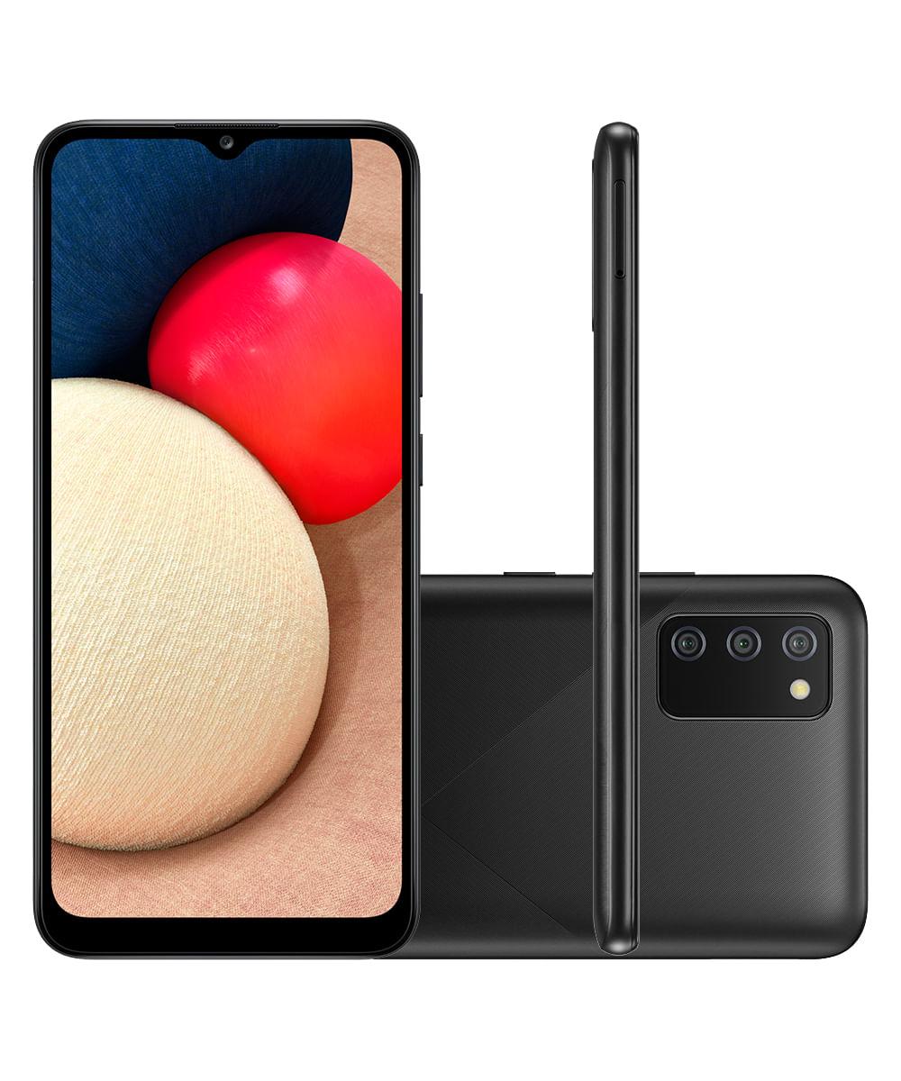 Smartphone Samsung A025M Galaxy A02s 32GB Preto