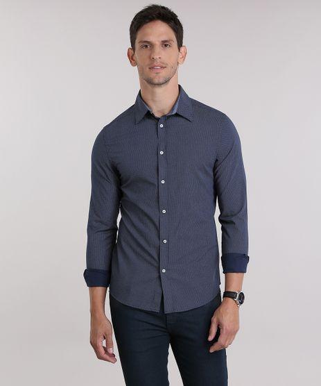 Camisa-Slim-Estampada-Azul-Marinho-8851769-Azul_Marinho_1