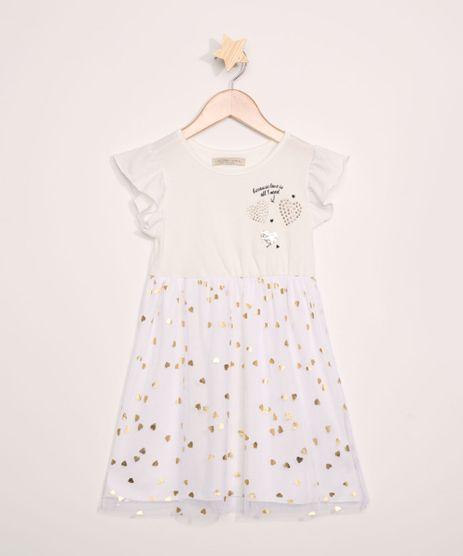 Vestido-Infantil-Coracoes-com-Tule-Manga-Curta-Off-White-9966432-Off_White_1